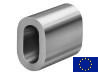 Aluminium Ovalklemme, Presshülse - EN 13411-3
