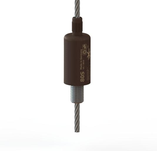 Gewinde | FIX[S]Drahtseilhalter, zertifiziert nach BGV C1