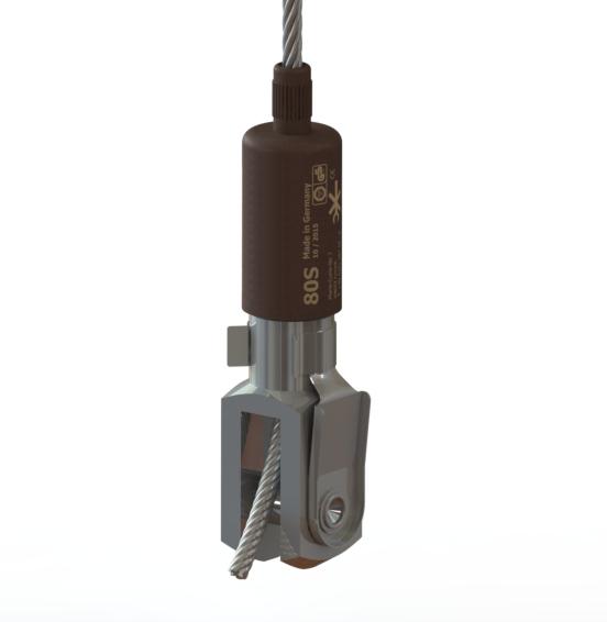 Gabel | FIX[S]Drahtseilhalter, zertifiziert nach BGV C1