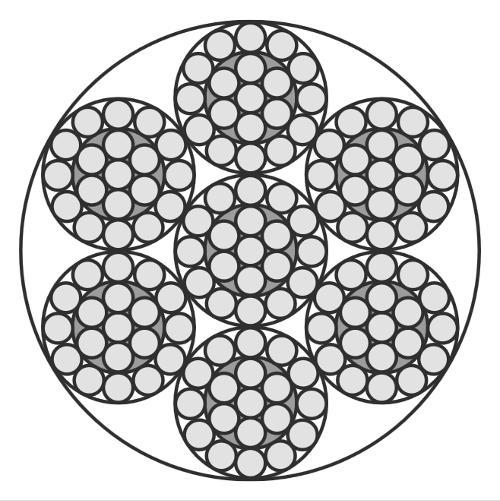Edelstahlseil, 7x19 (weich/sehr flexibel)