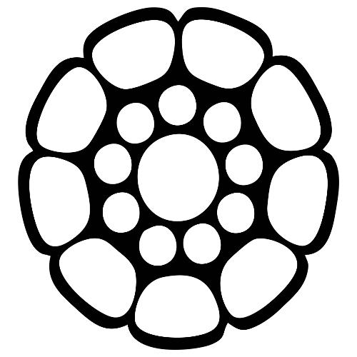 Edelstahlseil, Python 1x19, verdichtet