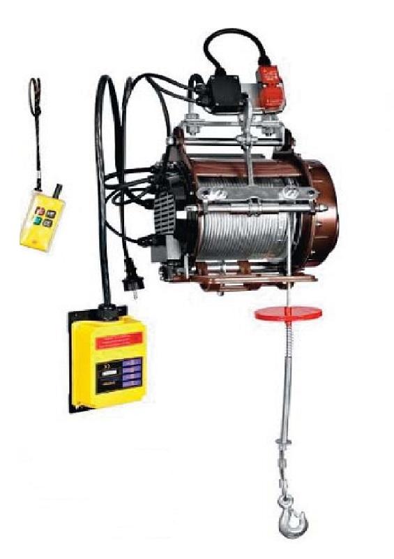Elektroseilwinde WIG - bis 800Kg - 220V - mit Funkfernbedienung