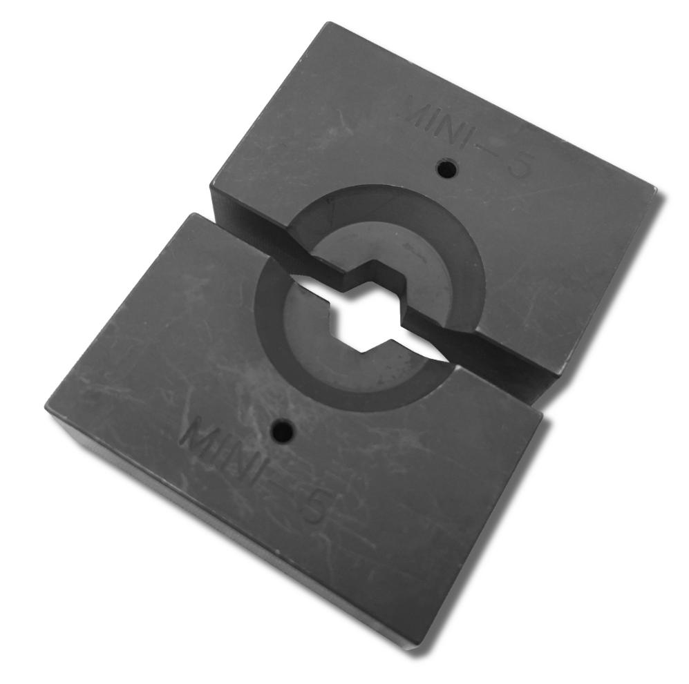 Pressbacken für Drahtseilterminals | Hydraulische Presszange B12