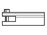 Zugelement: Gabel 6,0mm