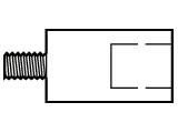 Zugelement: Adapter M20->M12